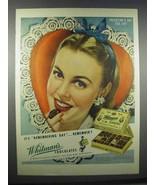 1945 Whitman's Chocolates Ad - Valentine's Day - $14.99