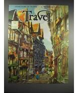 1932 Travel Magazine Cover - July 1932 - $14.99