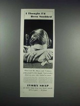 1938 Ivory Soap Ad - I Thought I'd Been Snubbed - $14.99