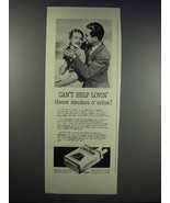 1938 Old Gold Cigarettes Ad - Can't Help Lovin' - $14.99