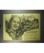 1943 Chesterfield Cigarettes Ad - In Nation's Capital - $14.99