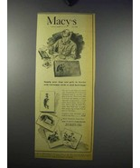 1943 Macy's Department Store Ad - Christmas Cards - $14.99