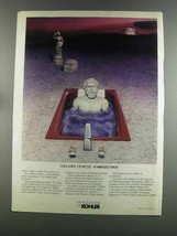 1982 Kohler Greek Bath Ad - $14.99