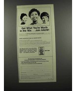 1983 American Association of University Women Ad - $14.99