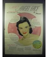 1947 Pond's Angel Face Make-Up Ad - $14.99
