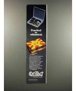 1983 Con-Tact Brand Decorative Coverings Ad - Practical - $14.99