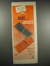 1948 Amity Director and Directress Billfold Ad - $14.99