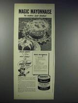 1948 Borden's Eagle Brand Sweetened Condensed Milk Ad - $14.99