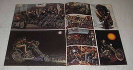 1982 2-page David Mann Illustration Collage - $14.99