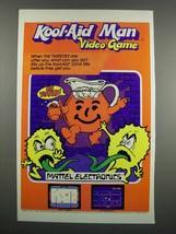 1983 Mattel Electronics Kool-Aid Man Video Game Ad - $14.99