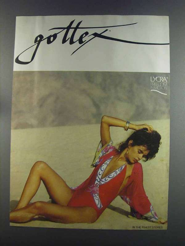 Primary image for 1982 Gottex Swimsuit Ad