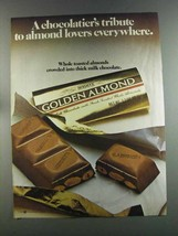 1982 Hershey's Golden Almond Chocolate Bar Ad - $14.99