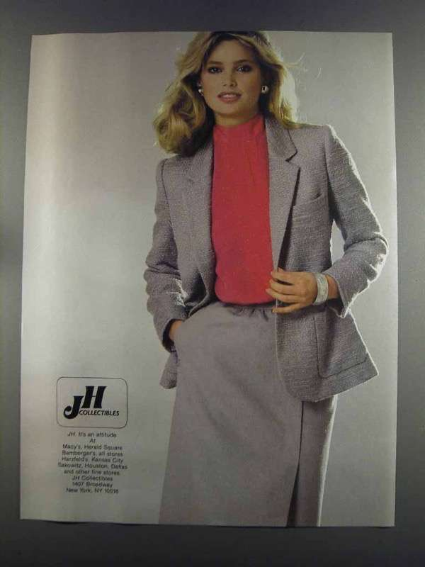 Primary image for 1982 JH Collectibles Fashion Ad