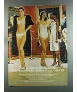 1982 Maidenform Chantilly Bra, Bikini, Teddy, Petti Ad - $14.99