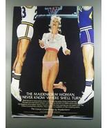 1982 Maidenform Cotton Continentals Bikini Ad - $14.99