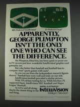 1982 Mattel Electronics Intellivision Ad - Difference - $14.99
