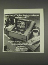 1982 Panasonic TR-5050P TV Ad - Why Buy - $14.99