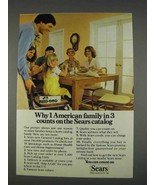 1982 Sears Catalog Ad - 1 American Family in 3 - $14.99