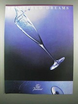 1983 Baccarat Crystal Ad - Shattered Dreams - $14.99