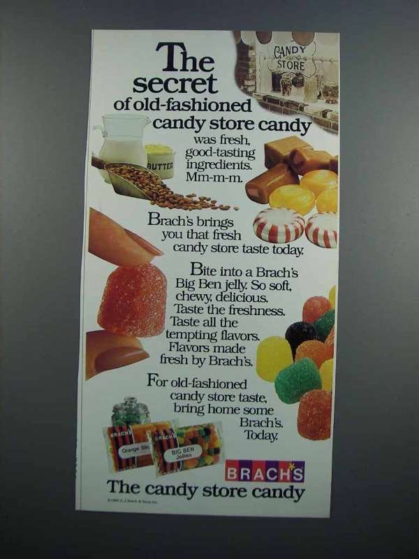 Primary image for 1983 Brach''s Candy Ad - The Secret