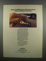 1983 Cadillac Sewell Village Ad - Ours Open Your Eyes - $14.99