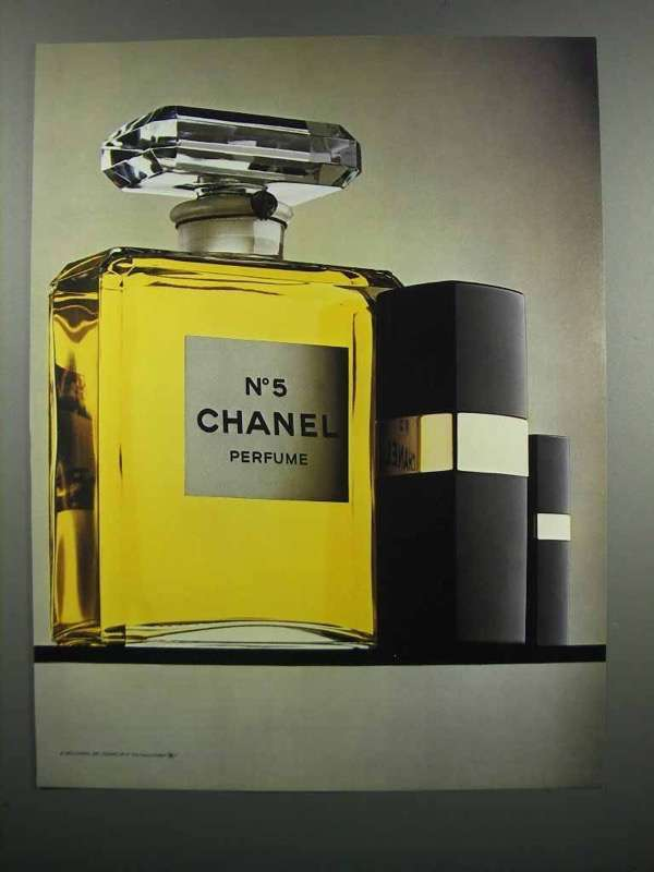 Primary image for 1983 Chanel No. 5 Perfume Ad