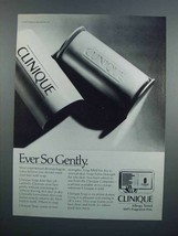 1983 Clinique Soap Ad - Ever So Gently - $14.99
