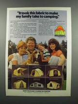 1983 Evolution 3 Tents Ad - Genesis by Coleman - $14.99