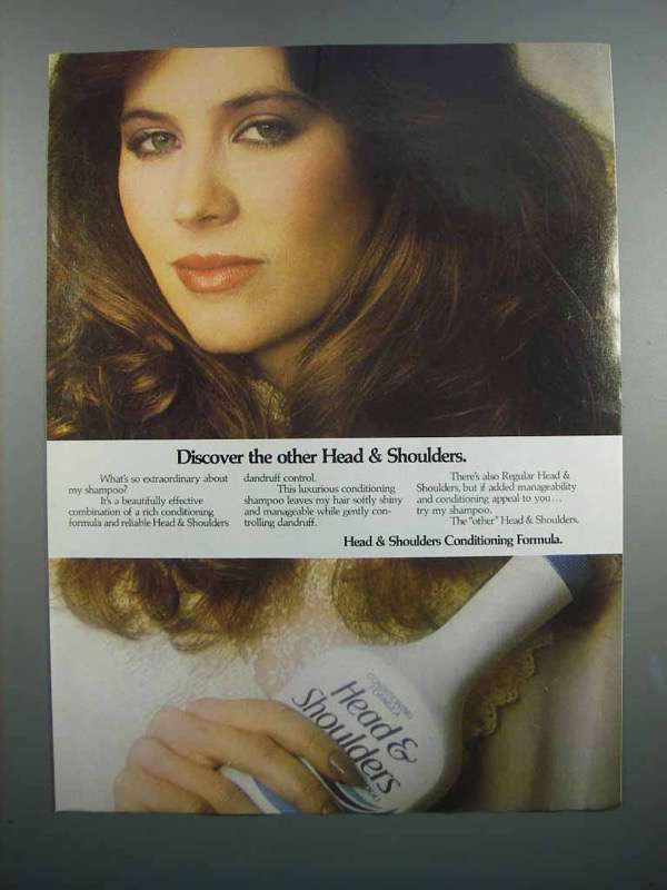 Primary image for 1983 Head & Shoulders Conditioning Formula Ad