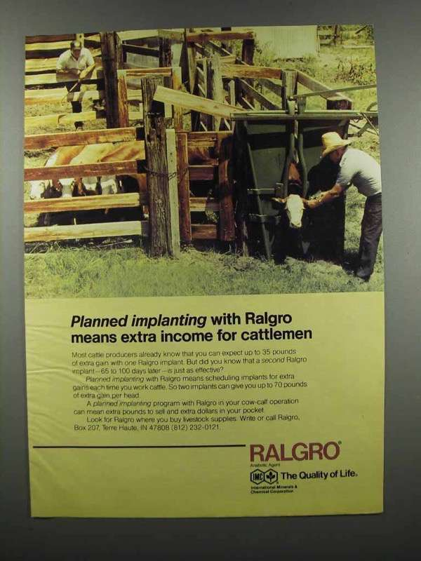 Primary image for 1983 International Minerals & Chemical Ralgro Ad