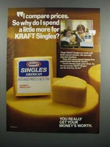 1983 Kraft Singles American Cheese Ad - Compare Prices - $14.99