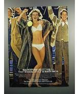 1983 Maidenform Delectables Bra and Bikini Ad - $14.99