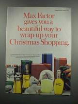 1983 Max Factor Pefume Ad - Jardin, Epris, Geminesse - $14.99