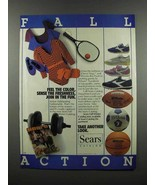 1983 Sears Catalog Fashion and Sporting Goods Ad - $14.99