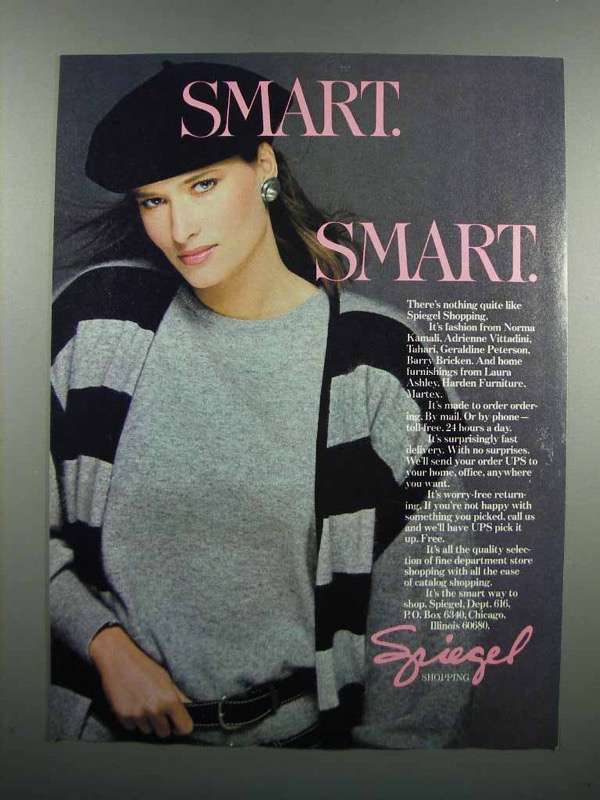 Primary image for 1983 Spiegel Fashion Ad - Smart