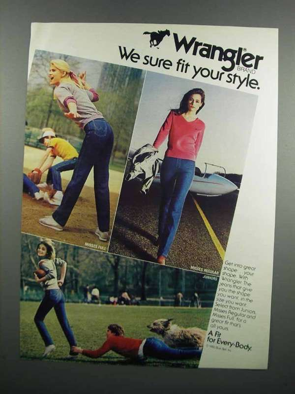 Primary image for 1983 Wrangler Jeans Ad