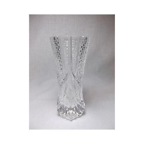 "Primary image for Crystal Bud Vase 5 1/8 ""with Diamond Textural Pattern"