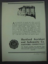 1926 Hartford Accident and Indemnity Co. Ad - $14.99