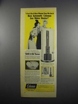 1949 Coleman Gas Water Heater Ad - Feel Like New Woman - $14.99