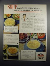 1951 Campbell's Soup Ad - Balances Your Meal - $14.99
