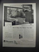 1951 Libbey-Owens-Ford Thermopane Glass Ad - Enjoy More - $14.99