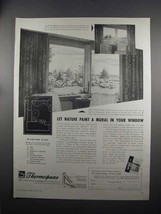 1951 Libbey-Owens-Ford Thermopane Glass Ad - Let Nature - $14.99