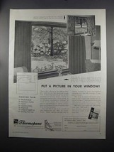 1951 Libbey-Owens-Ford Thermopane Glass Ad - A Picture - $14.99
