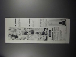 1951 Coleman Automatic Water Heaters Ad - Jet Recovery - $14.99