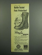 1954 United States Rubber Company Insul Air Boots Ad - $14.99