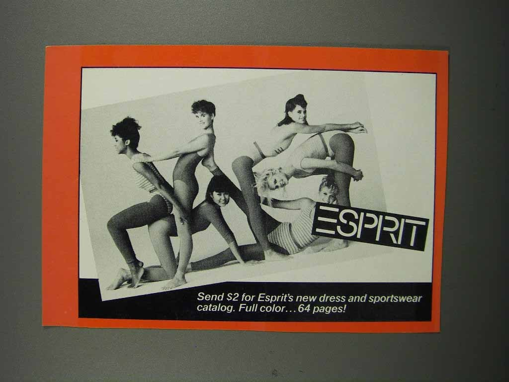 Primary image for 1983 Esprit Fashion Ad