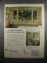 1953 Libbey-Owens-Ford Thermopane Insulating Glass Ad - $14.99