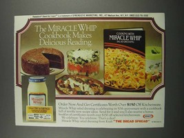 1983 Kraft Miracle Whip Ad - Makes Delicious Reading - $14.99
