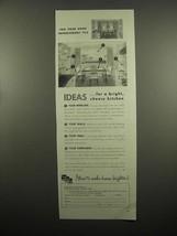 1954 Libbey-Owens-Ford Glass Ad - Thermopane, Vitrolite - $14.99