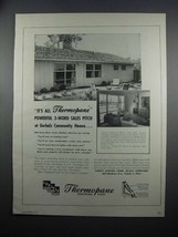 1954 Libbey-Owens-Ford Thermopane Insulating Glass Ad - $14.99